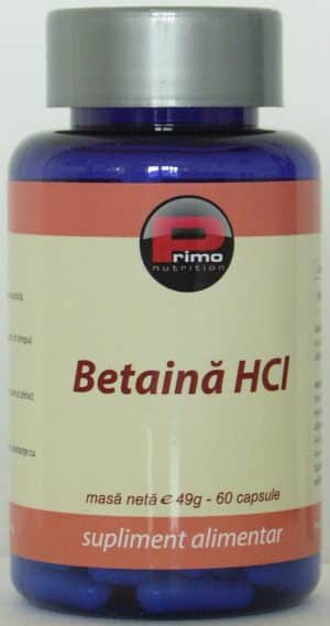 betaina hcl-reflux gastric