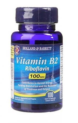 vitamina b2-riboflavina