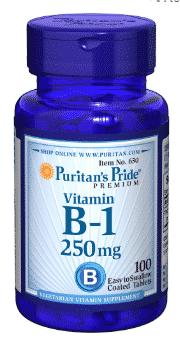 vitamina b1 tiamina puritan