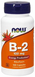 vitamina b2 riboflavina 100 mg